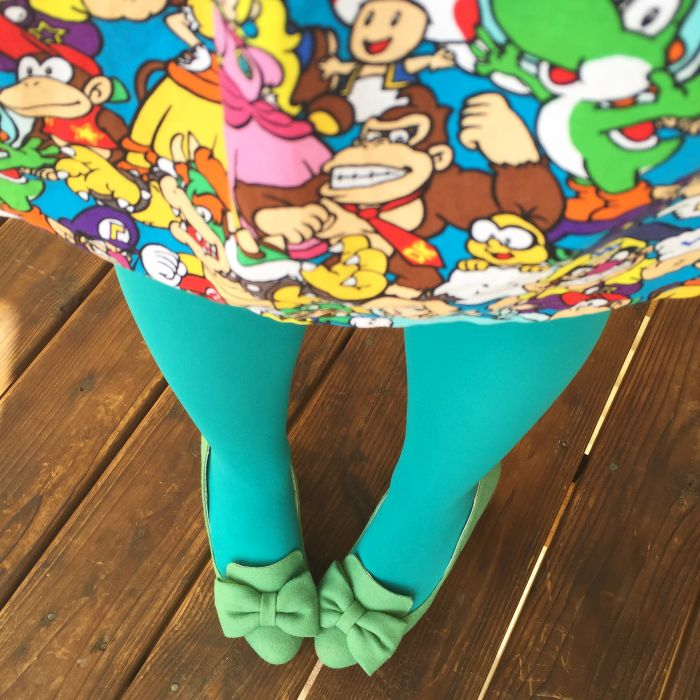 Ariann - Video Games Dress - We Love Colors Tights (3)